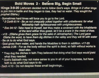 Bold Moves Vol. 2 - July 29, 2018