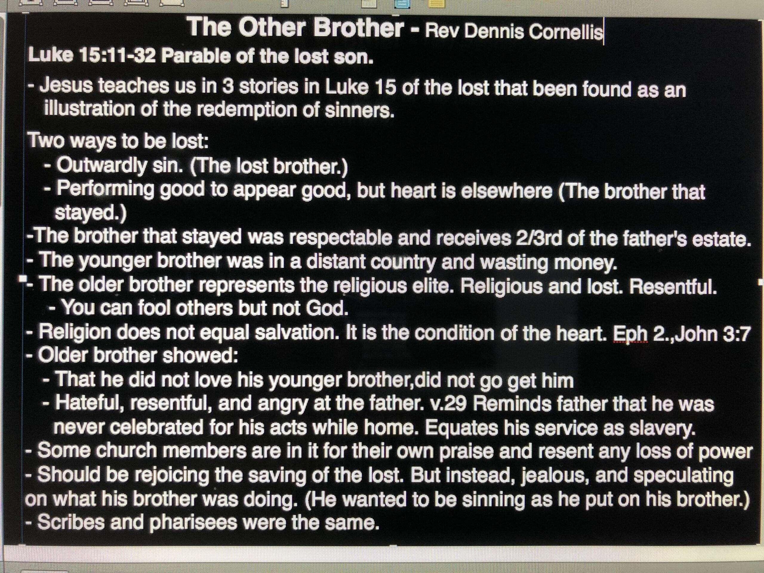 The Other Brother - November 11, 2018