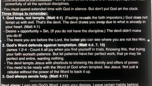 Depend On God - February 9, 2020